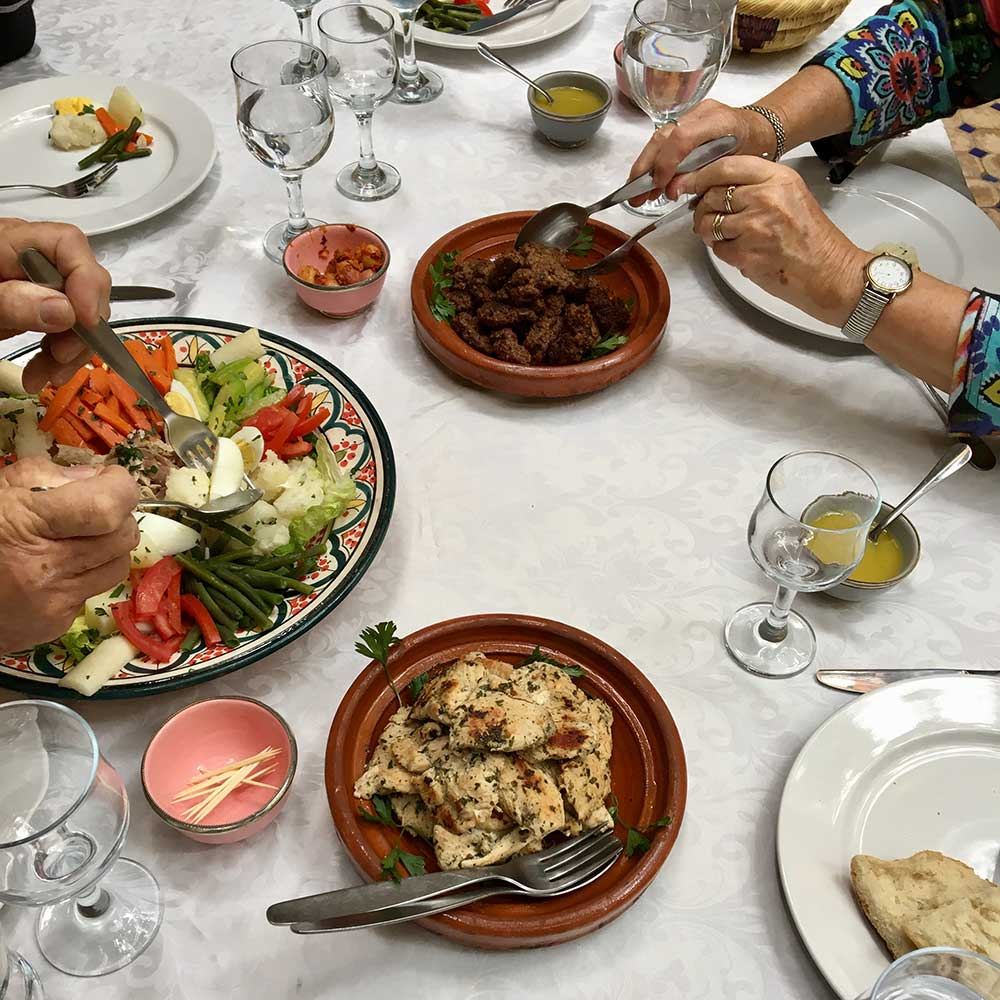 Morocco Food Tour, Kitchen to Table